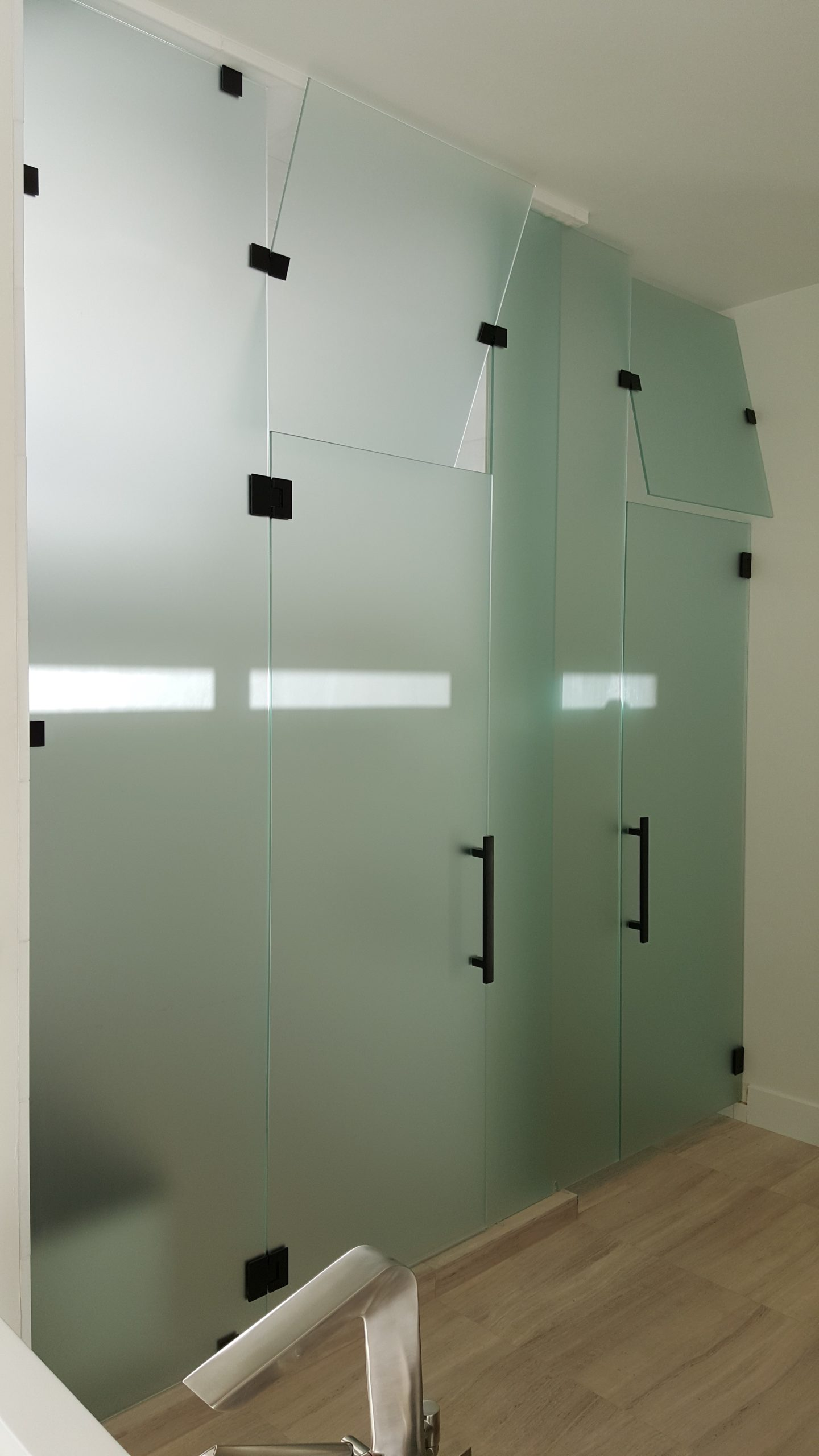 enclosure frameless showers windshield services glass shower enclosures airdrie