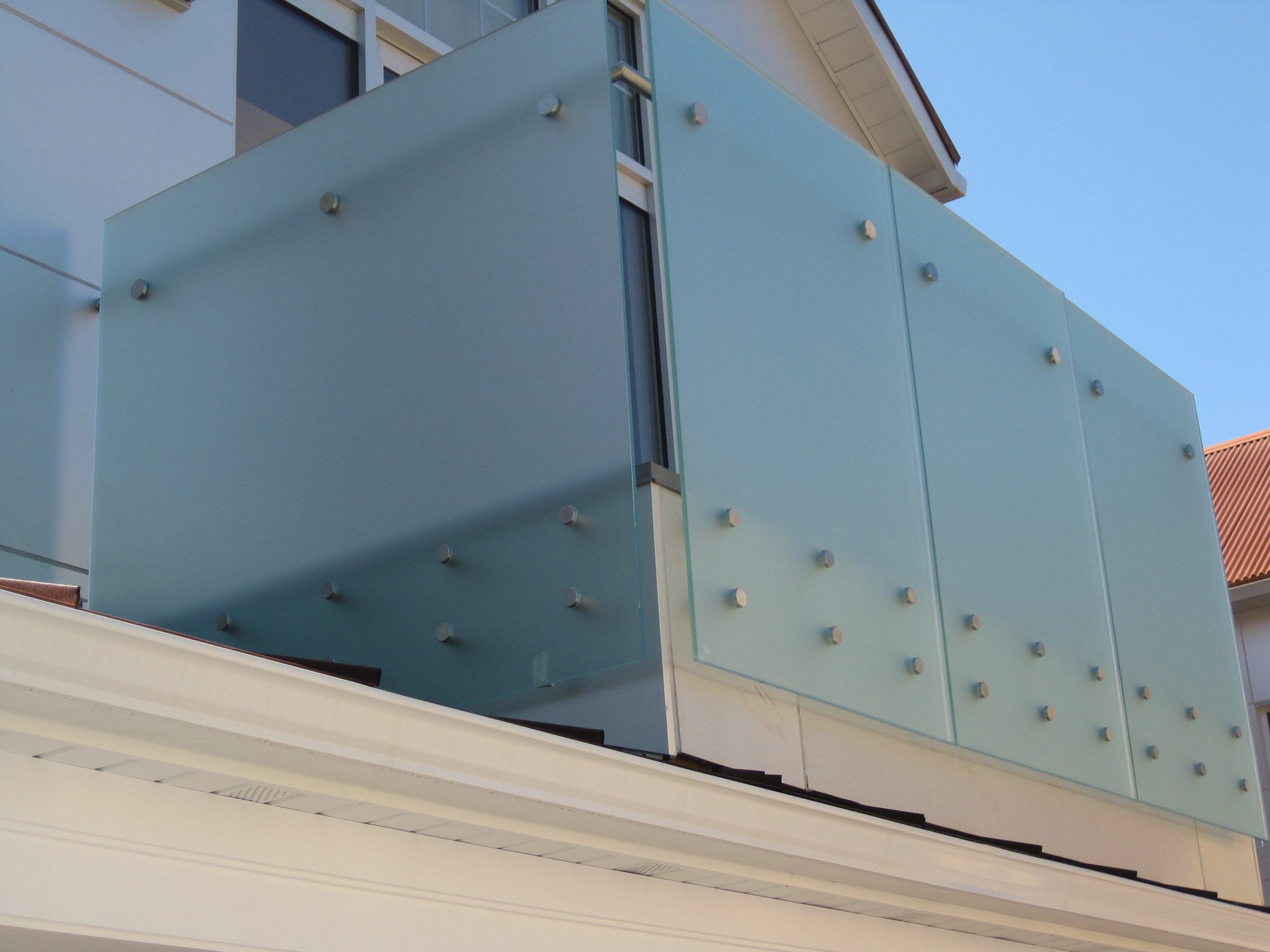 Outside Glass Railing